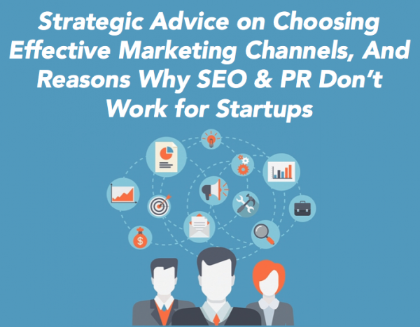 Why SEO and PR don't work for startups